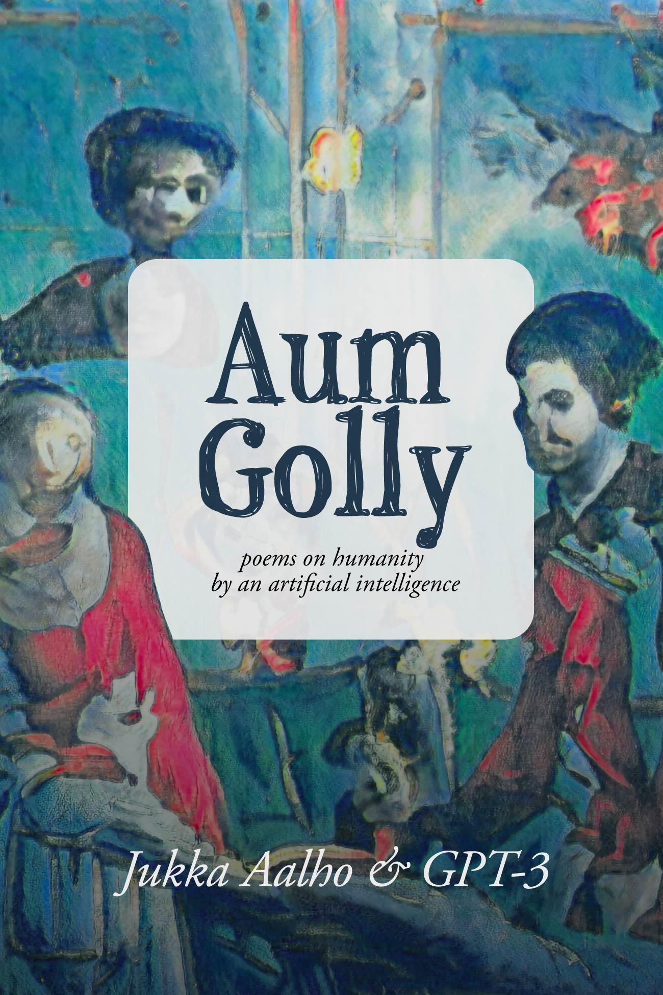 Aum Golly book cover in English